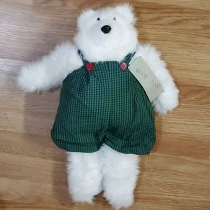 Woof & Poof musical plush bear